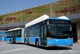 Bus con combustible de gas natural