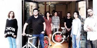 El equipo de Copenhagen Wheel
