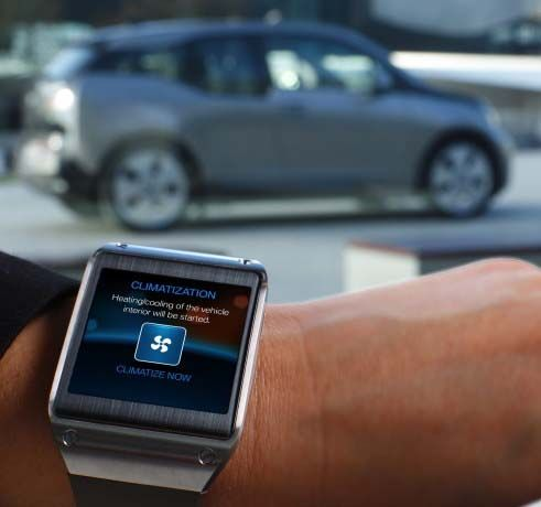 galaxy gear bmw i3