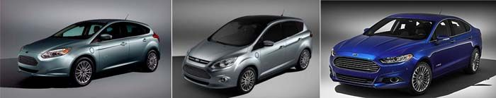 Ford eléctricos focus c-max mondeo