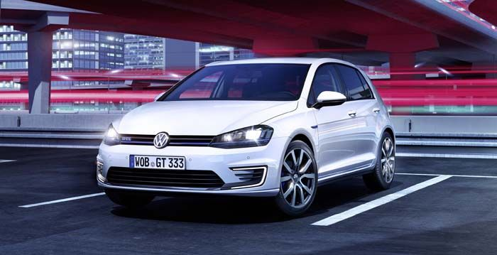 Volkswagen golf GTE híbrido enchufable