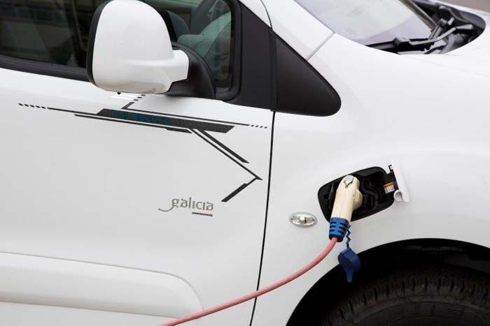 Peugeot Partner eléctrica electric
