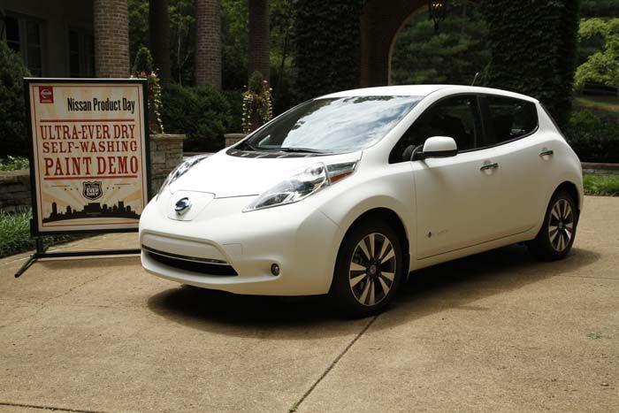 Nissan Leaf autolimpiable - 700