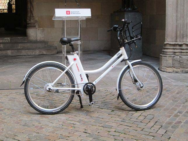 bicing bicicleta eléctrica barcelona