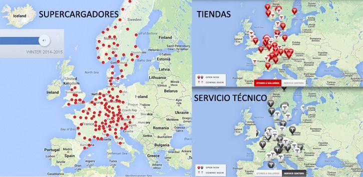 tiendas tesla europa