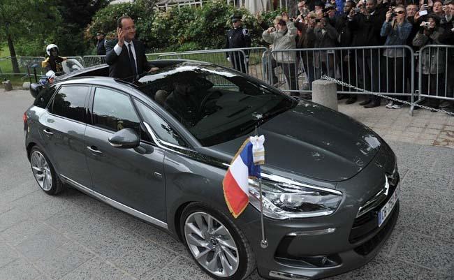 coche oficial eléctrico francia - 700