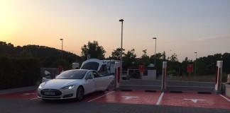 Supercargador de Tesla en España (Lleida)