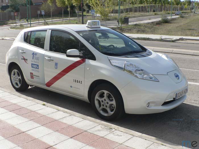 el ayuntamiento de madrid subvenciona los taxis el ctricos