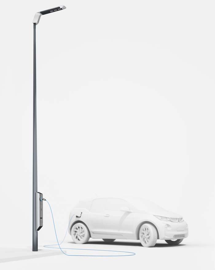 Light and Charge farola bmw - 700