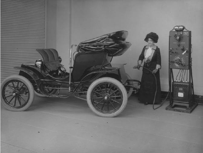el arranque del coche electrico - 700