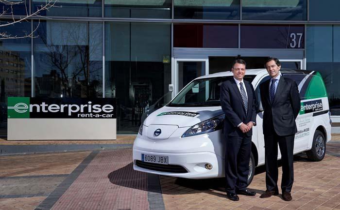 enterprise rent a car  nissan - 700