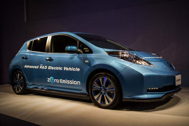 Nissan Leaf 544 km - 700