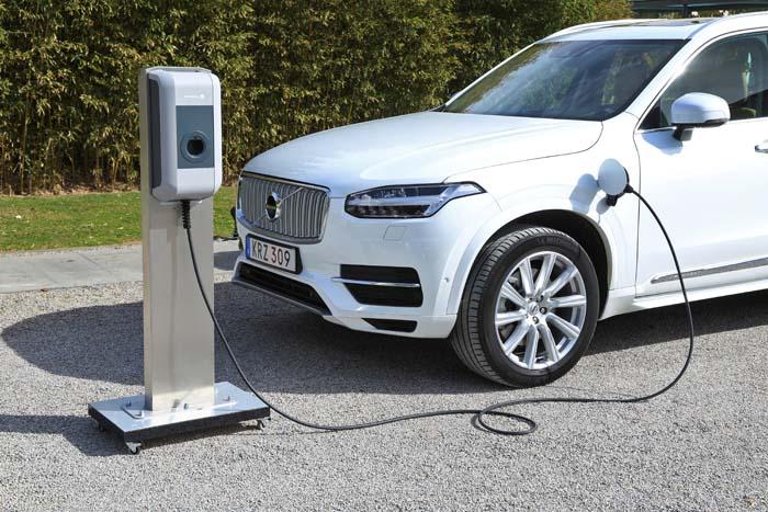 Plataforma CMA de Volvo para sus nuevos coches eléctricos