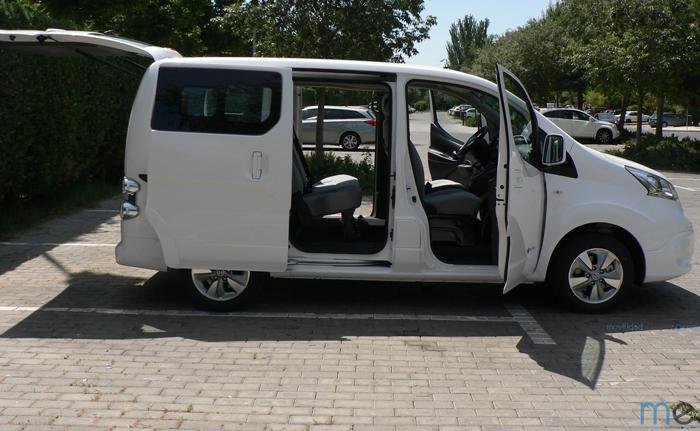 nissan e-nv200 evalia puertas - 700