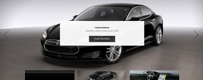 referal program Tesla Motors