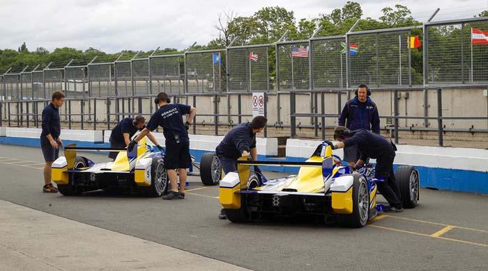 test segunda temporada formula e - 700