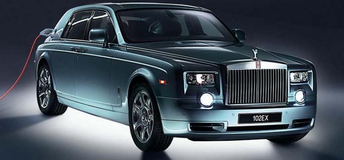 Rolls-Royce electrico phantom 102EX