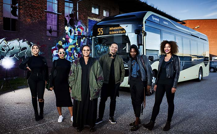 Silent Bus Sessions Seinabo Sey Volvo ElectriCity