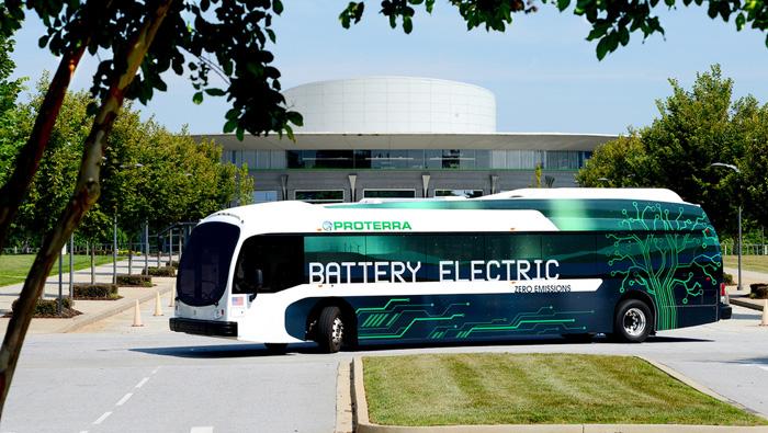 autobus electrico proterra - 700