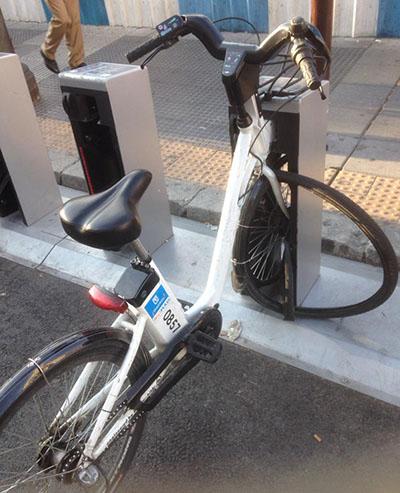 Problemas de vandalismo con las bicicletas eléctricas de BiciMAD