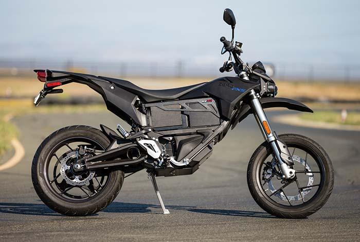 zero-fxs gama 2016 zero motorcycles