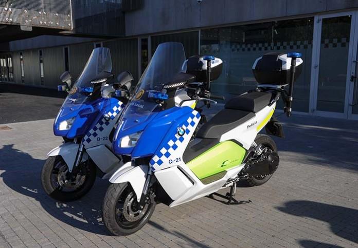 Policía Local de Sant Cugat BMW C Evolution