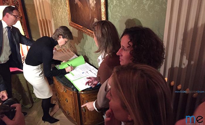 firma convenio corredores ibericos garcia tejerina