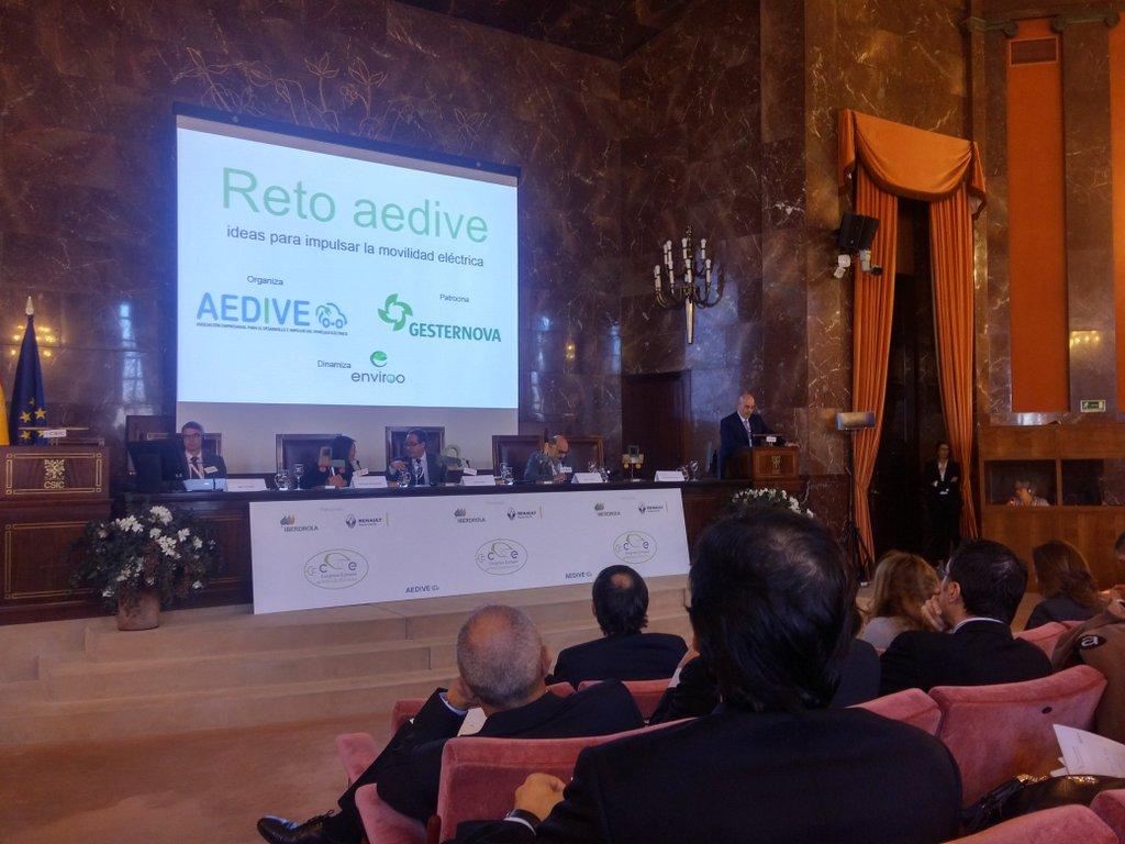 presentacion del reto aedive en ceve 2015