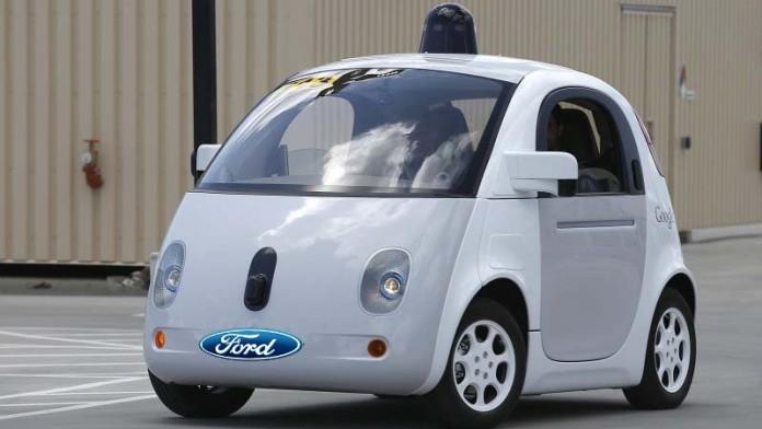 coche autonomo de google y ford