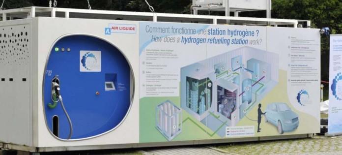 hidrogenera air liquide paris