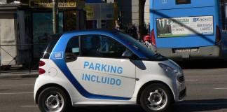smart fortwo ed car2go madrid