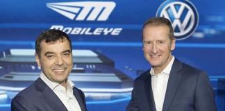 Mobileye y Volkswagen