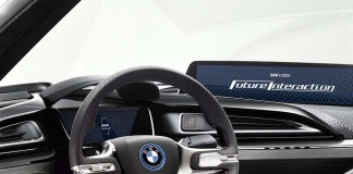 Future Vision Interaction bmw
