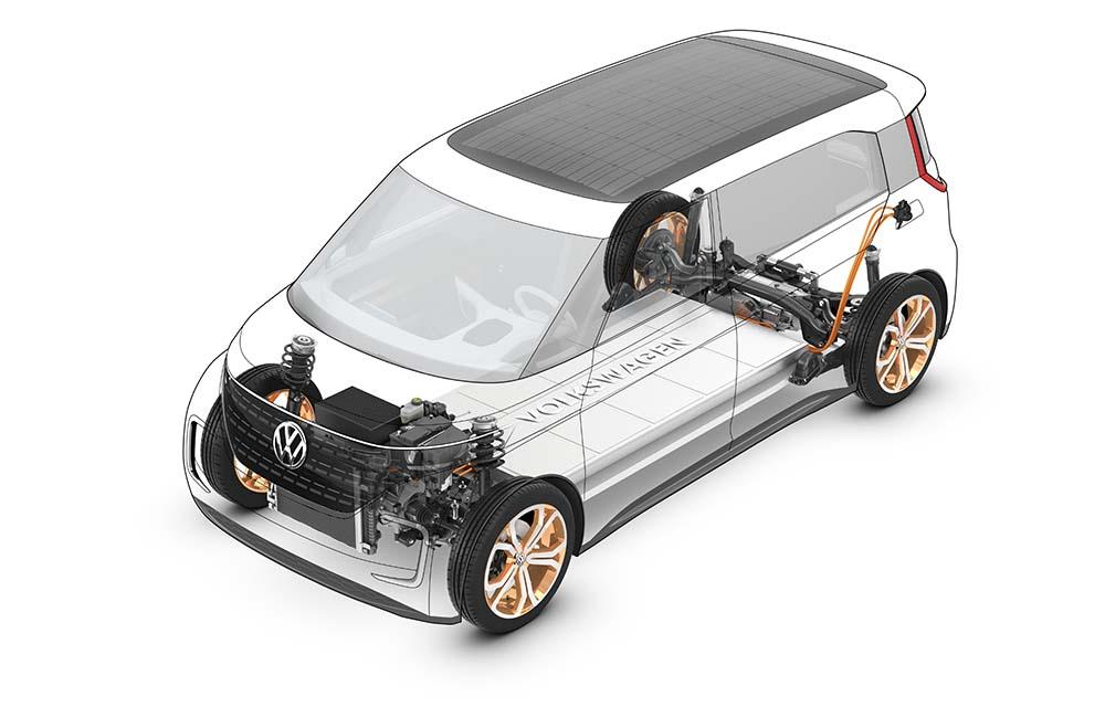 Mecanica del volkswagen budd-e concept