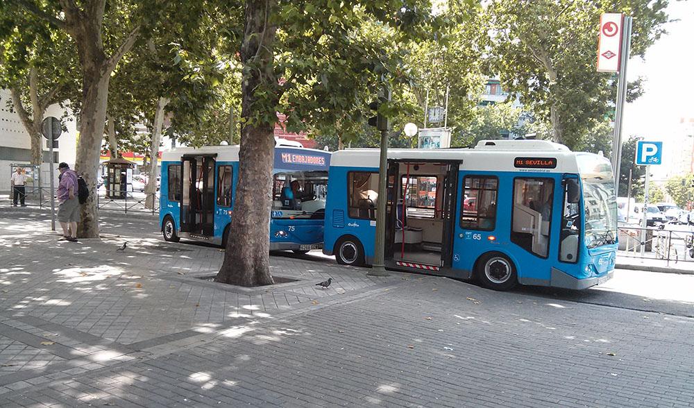 minibus electrico emt. Autobuses eléctricos en 2017