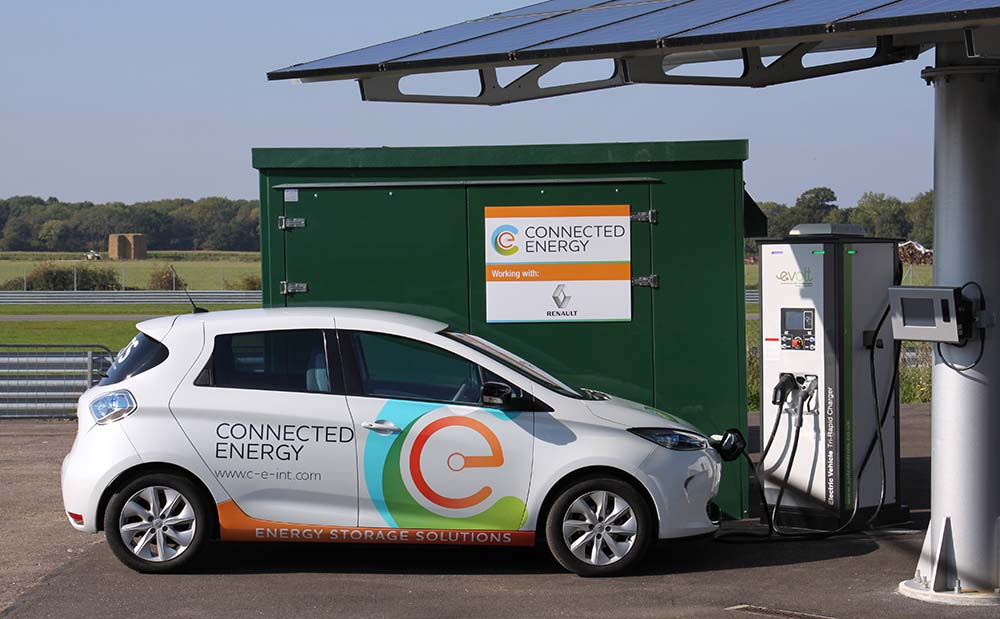 E-STOR de Connected Energy y Renault