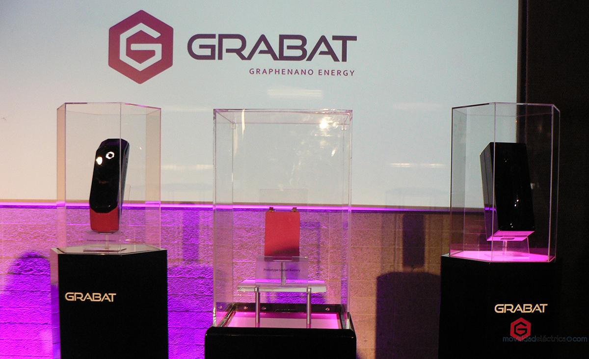 Prototipos de baterias de grafeno