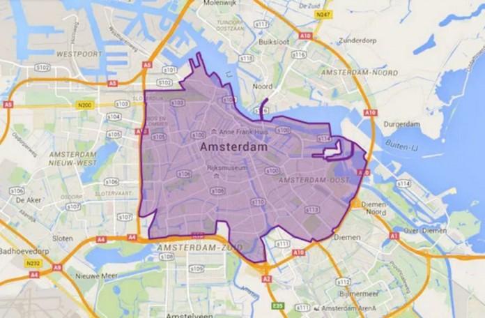 Zona restringida a los vehículos de combustión en Ámsterdam