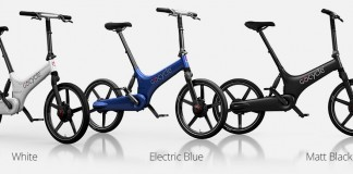 Gocycle G3 con luz diurna