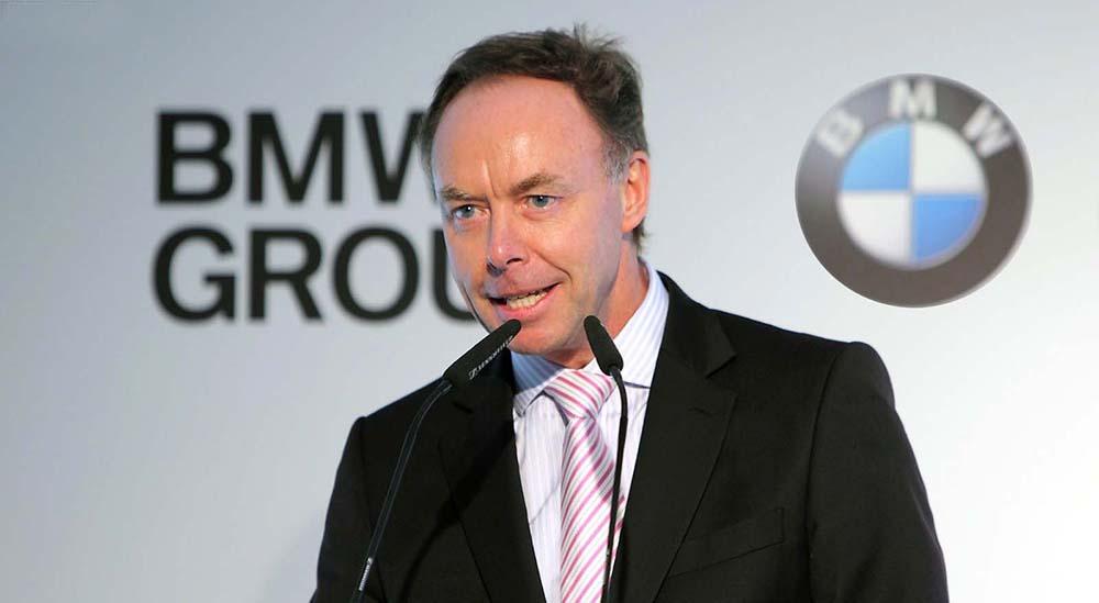 Ian Robertson, jefe de ventas y marketing de BMW