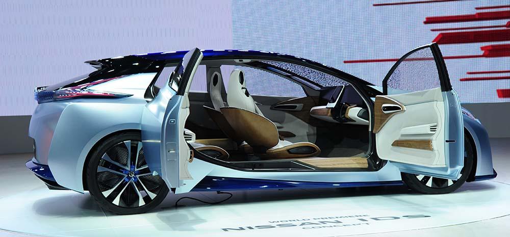 Nissan IDS Concept en el Salón de Ginebra