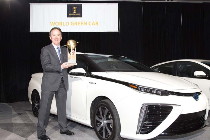 Toyota Mirai, World Green Car Award