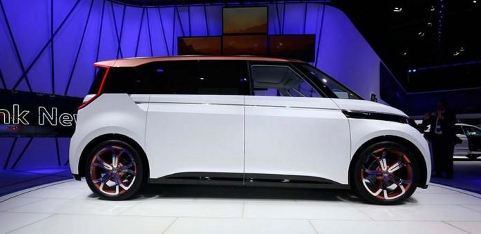 VW Budd E Concept en el Salón de Ginebra de 2016 (FotoAutocasión)