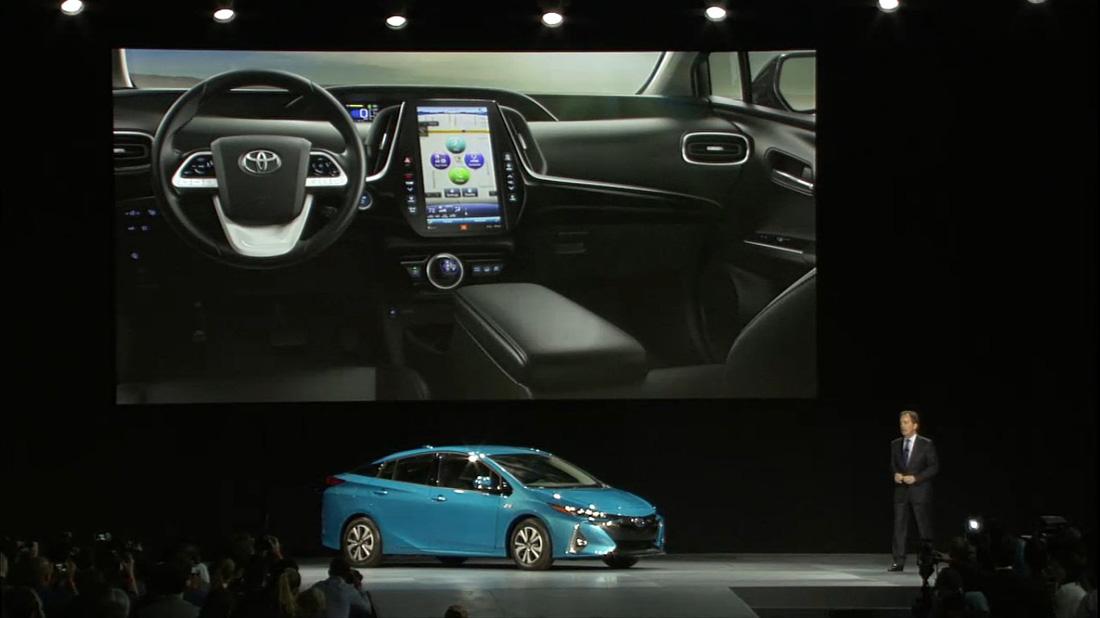 Toyota Prius Prime - Interior y exterior