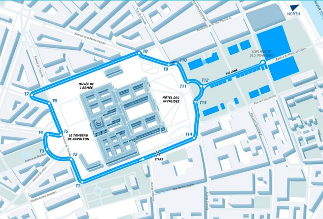 Circuito del ePrix de París