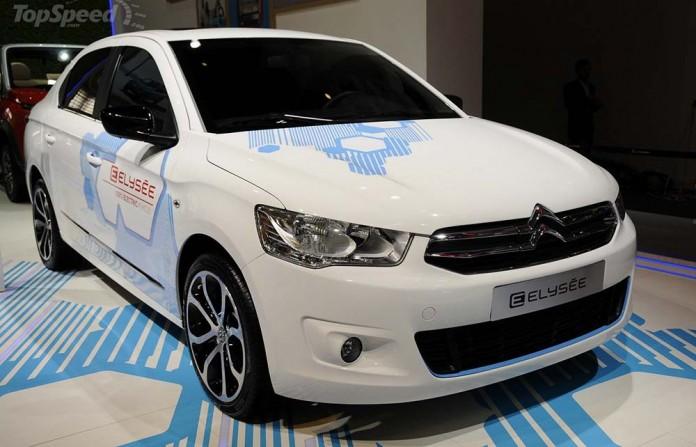 Citroën E-Elysée en el Salón de Pekín