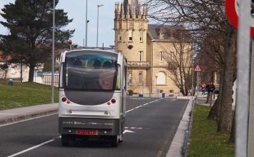 El proyecto cuenta con tres autobuses autónomos y eléctricos