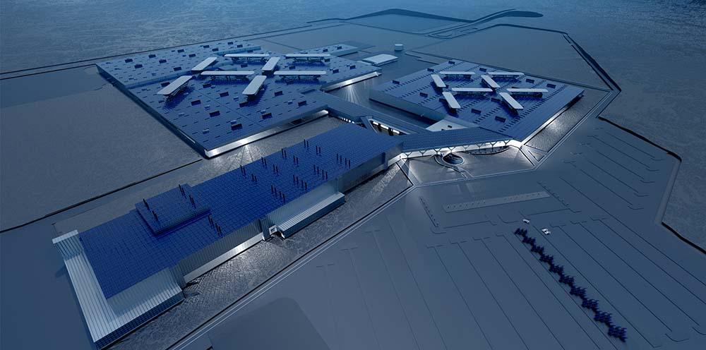 Fábrica de Faraday Future en Nevada