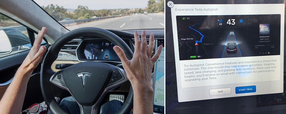 Prueba del Autopilot de Tesla Motors