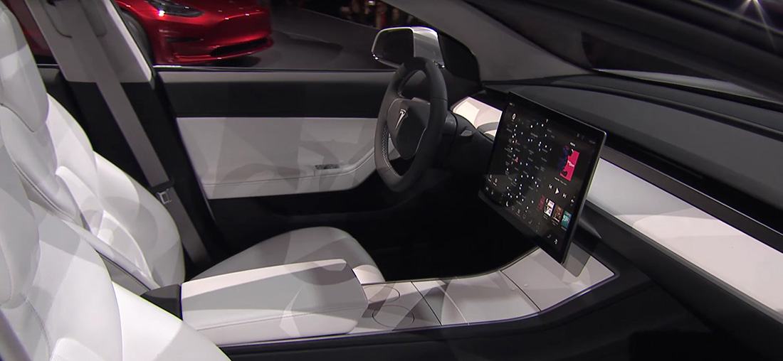 Tesla model 3 2017 forocoches for Tesla model 3 interieur